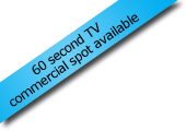 Available for a 60 broadcast spot